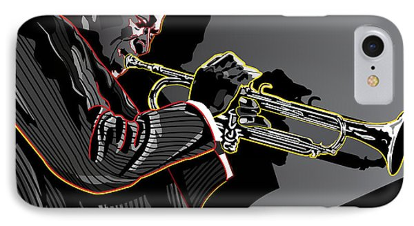 Miles Davis Legendary Jazz Musician Phone Case by Larry Butterworth
