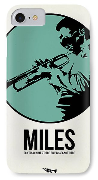 Miles Poster 1 IPhone 7 Case by Naxart Studio