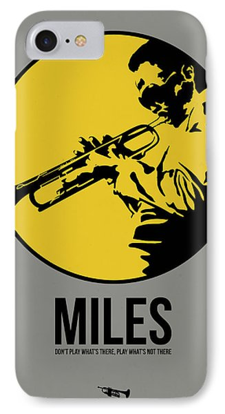 Miles Poster 3 IPhone 7 Case by Naxart Studio
