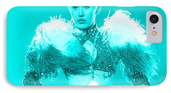 Miley Cyrus Do My Thang IPhone Case by Brian Reaves