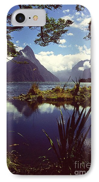Milford Sound In New Zealand's Fiordland National Park Phone Case by Alex Cassels