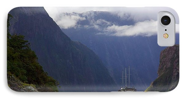 Milford Sound IPhone Case by Stuart Litoff