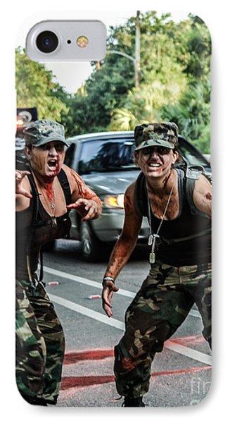 Militant Zombies IPhone Case