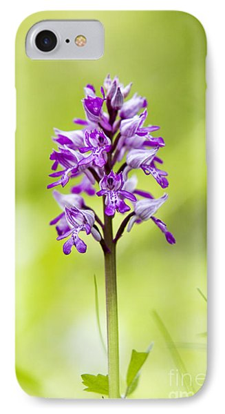 Military Orchid Phone Case by Tim Gainey