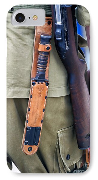 Military Small Arms 01 Ww II Phone Case by Thomas Woolworth