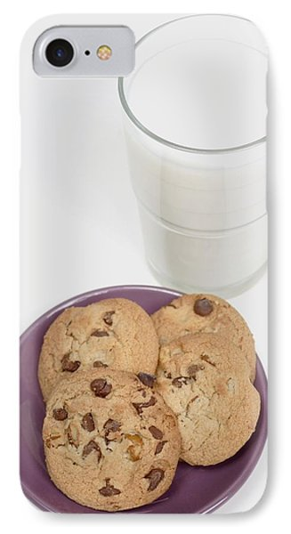 Milk And Cookies Phone Case by Greenwood GNP