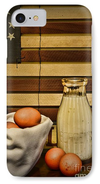 Milk And Eggs Phone Case by Paul Ward