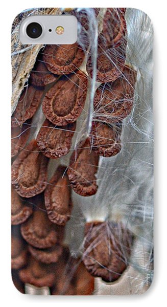 IPhone Case featuring the photograph Milkweed by JRP Photography