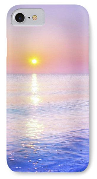IPhone Case featuring the photograph Milky Sunset by Lilia D