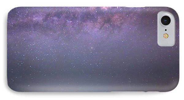 Milky Way And Astronomer IPhone Case by Luis Argerich