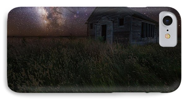 Milky Way And Decay IPhone Case by Aaron J Groen