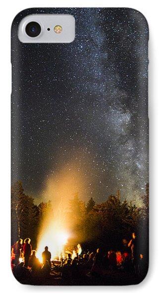 Milky Way At Flagstaff Hut IPhone Case