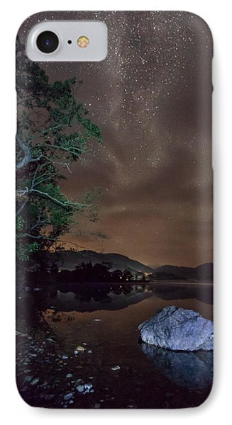 Milky Way At Gwenant IPhone Case by Beverly Cash