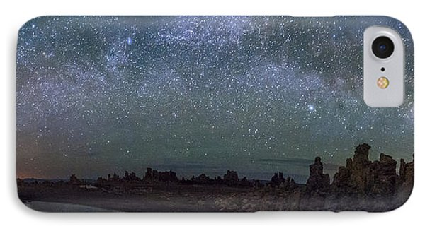 Milky Way At Mono Lake IPhone Case by Cat Connor