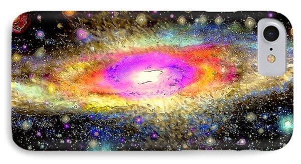 Milky Way Phone Case by Daniel Janda
