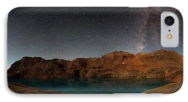 Milky Way Dreams At Columbine Lake Phone Case by Mike Berenson