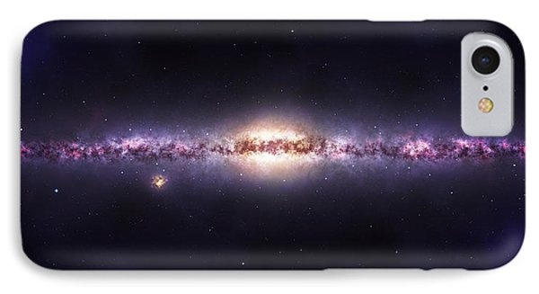 Milky Way Galaxy IPhone Case by Celestial Images