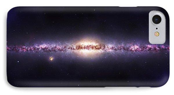 Milky Way Galaxy IPhone Case