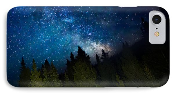 Milky Way On The Mountain IPhone Case