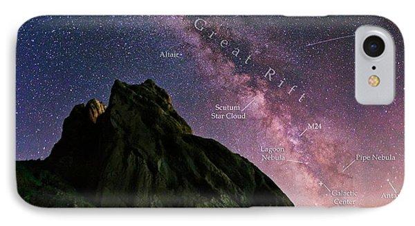 Milky Way Over Alamut IPhone Case by Babak Tafreshi