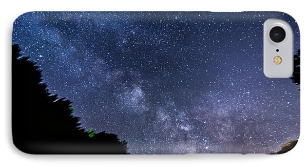 Milky Way Over Silver Springs Campground IPhone Case by Patrick Fennell