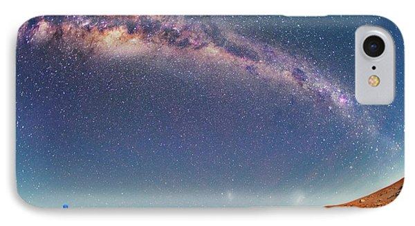 Milky Way Over The Atacama Desert IPhone Case by Juan Carlos Casado (starryearth.com)