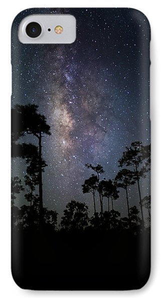 Milky Way Over The Everglades IPhone Case by Andres Leon