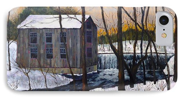 Mill At Walters Falls IPhone Case by Diane Arlitt