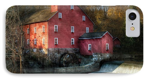 Mill - Clinton Nj - The Old Mill Phone Case by Mike Savad