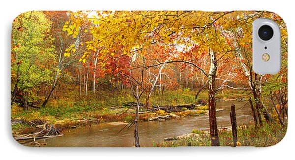 IPhone Case featuring the photograph Mill Creek 1 by Jim McCain