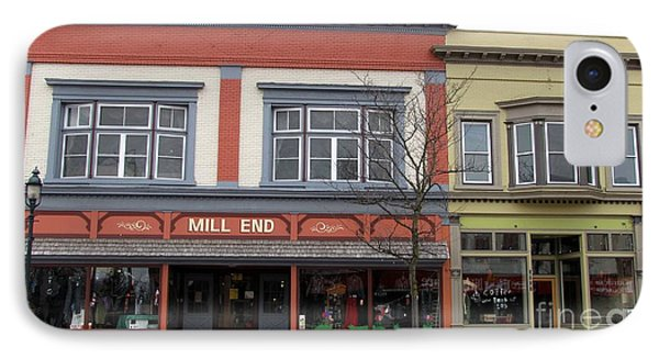 Mill End Store In Clare Michigan IPhone Case by Terri Gostola
