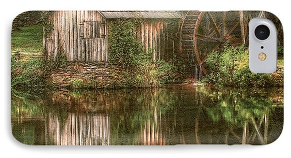 Mill On The Blue Ridge  IPhone Case by Darren Fisher