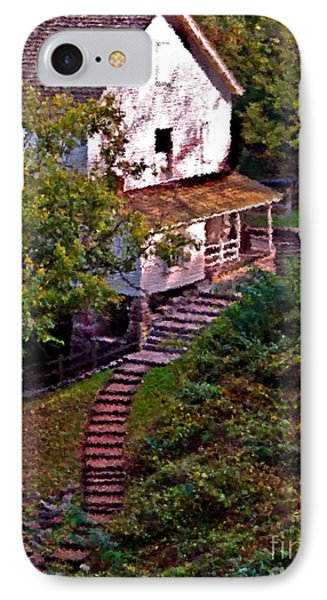 Mill Springs Mill IPhone Case by Ken Frischkorn