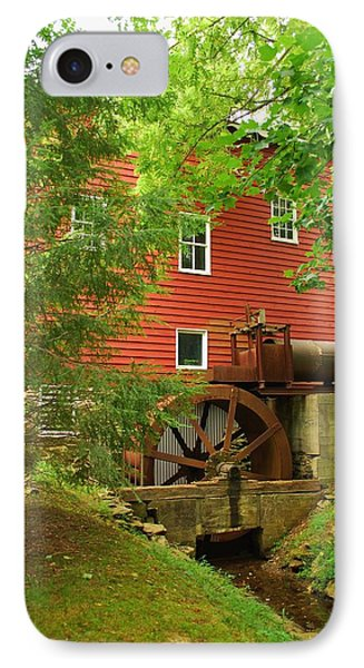 IPhone Case featuring the photograph Grist Mill Water Wheel by Bob Sample