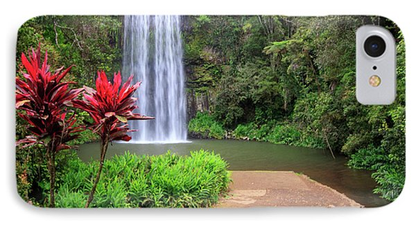 Far North Queensland iPhone 7 Case - Millaa Millaa Falls Is One by Paul Dymond