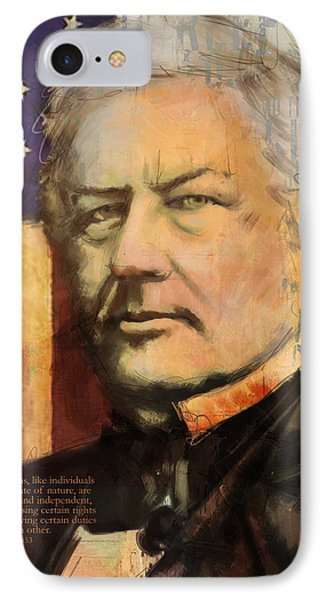 Millard Fillmore Phone Case by Corporate Art Task Force