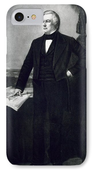 Millard Fillmore IPhone Case by George Healy