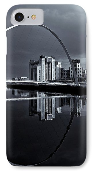 IPhone Case featuring the photograph Millenium Bridge by Stephen Taylor