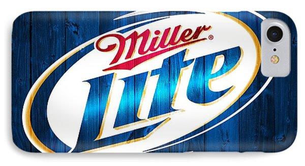 Miller Lite Barn Door IPhone Case by Dan Sproul