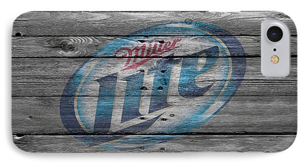 Miller Lite IPhone Case by Joe Hamilton