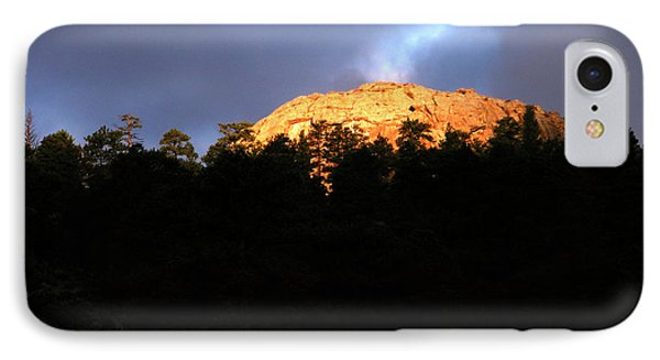 IPhone Case featuring the photograph Miller Moth Mountain by Craig T Burgwardt