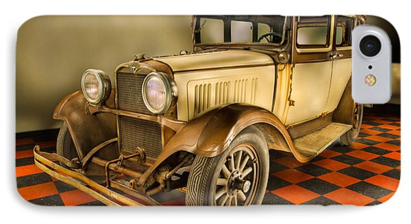 Millers Chop Shop 1929 Dodge Victory Six Before IPhone Case by Yo Pedro