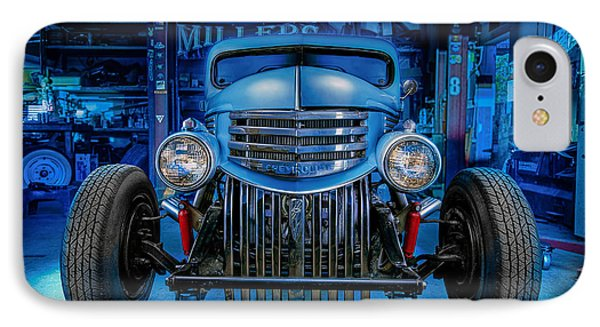 Millers Chop Shop 1946 Chevy Truck IPhone Case by Yo Pedro