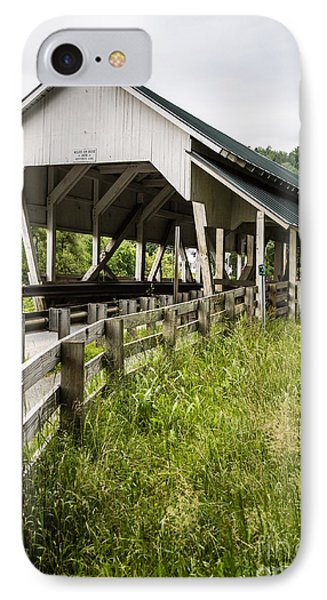 Millers Run Covered Bridge IPhone Case