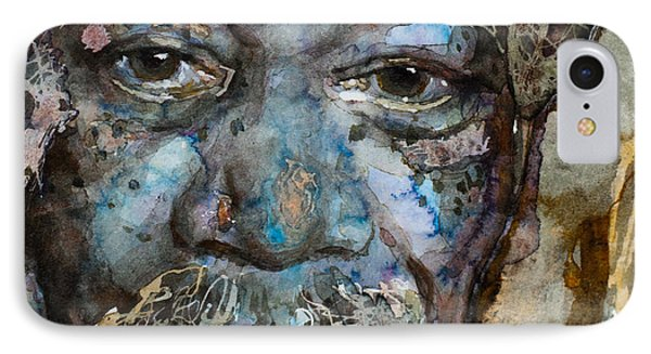 IPhone Case featuring the painting Million Dollar Baby by Laur Iduc