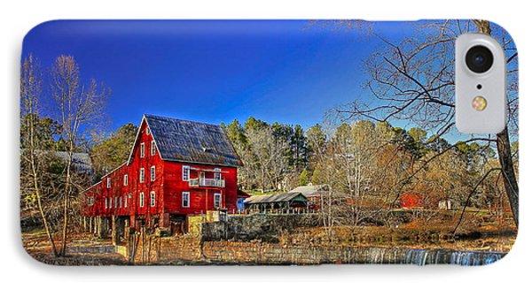 Historic Millmore Mill Shoulder Bone Creek IPhone Case by Reid Callaway