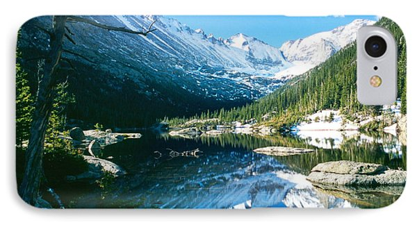 Mills Lake IPhone Case by Eric Glaser