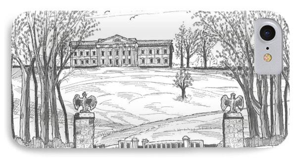 Mills Mansion Staatsburg Phone Case by Richard Wambach
