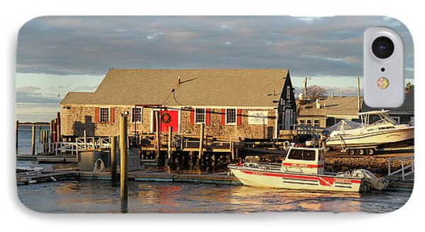 Millway Marina, Barnstable Harbor, Cape IPhone Case by Susan Pease