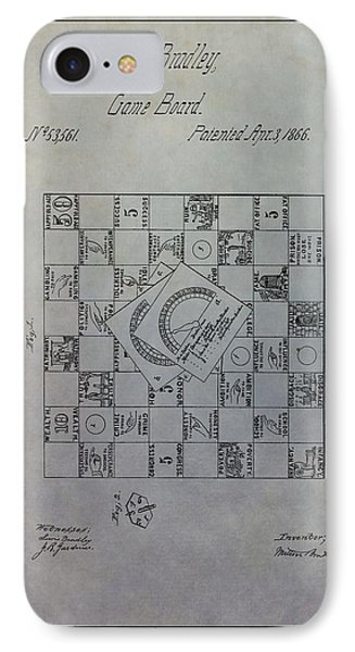 Milton Bradley Life Game Patent IPhone Case